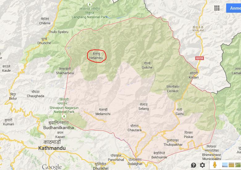 Gebiet Sindhupalchowk