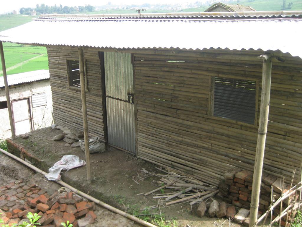 Ein weiteres Bambushaus..
